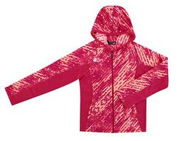 The North Face 100WT Glacier Youth Girls Full Zip Fleece Hoo