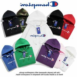 2019 Women's Men's Classic Champion Hoodies Embroidered Hood