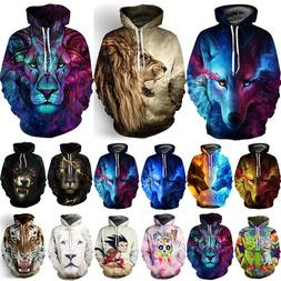 3D Graphic Men Women's Hoodie Sweater Sweatshirt Jacket Coat