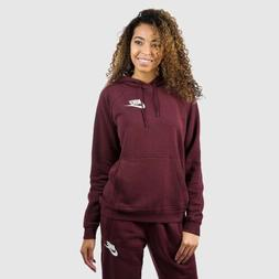 $60 AJ6315-652 NWT Womens Nike Rally Hoodie Burgundy Crush/w