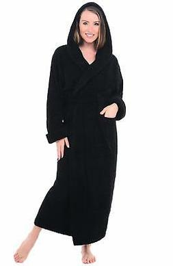 Alexander Del Rossa Womens Turkish Terry Cloth Robe, Long Co