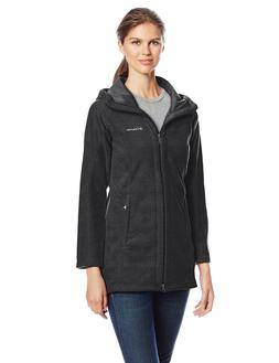 Columbia Women's Benton Springs II Long Hoodie, Charcoal Hea