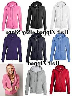 Gildan Heavy Blend Ladies Missy Fit Full-Zip Hooded Sweatshi