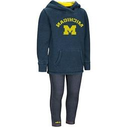 Michigan Wolverines Colosseum Girls Toddler Shot At The Pros