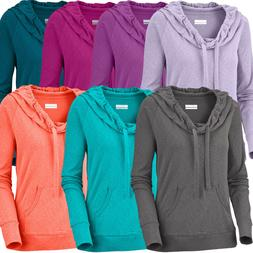 "New Womens Columbia ""Hoodie Hero"" Hooded Pullover Sweaters S"