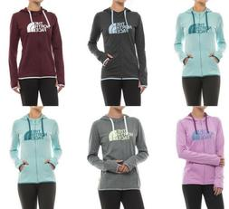 The North Face Womens Fave Lite LFC Hoodie Half Dome Full Zi