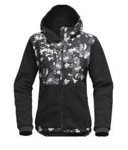 The north face Women Denali 2 Hoodie Late bloom Print Small