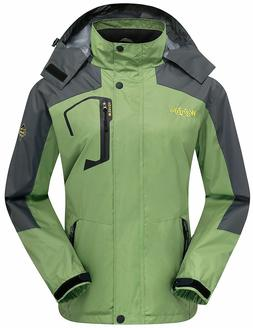 Wantdo Women's Waterproof Windproof Jacket - 001W - Medium -