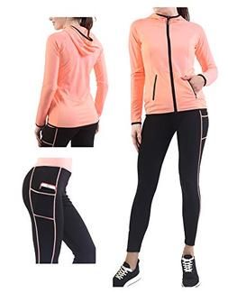 Active Wear Sets for Women -Workout Clothes Gym Wear Tracksu