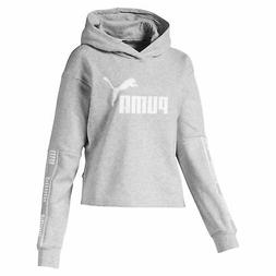 PUMA Amplified Women's Cropped Hoodie Women Sweat Basics