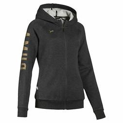 PUMA ATHLETIC Full-Zip Hoodie Women Sweat Basics New