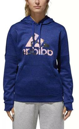 ADIDAS Athletics Badge of Sport Floral Print Hoodie Women'