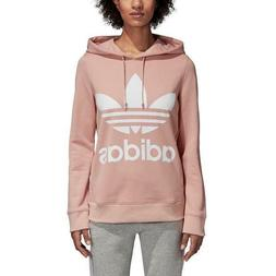 Auth $70 Adidas Women Originals French Terry Trefoil Hoodie