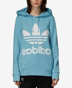 Authentic Adidas Women Originals French Terry Trefoil Hoodie
