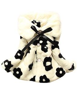 Baby Girls Toddlers Kids Winter Fall Jacket Coat Outerwear S