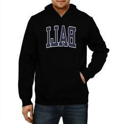 Bali Athletic Applique Embroidery Hoodie Men Women