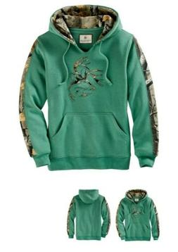 camo outfitter hoodie womens 2x frosty spruce