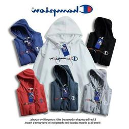 Champion Classic Men's Women's Sports Hoodie Embroidered Log
