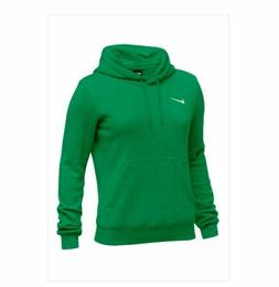 Nike Club Fleece Team Hoodie Women's S L XL Kelly Green Trai