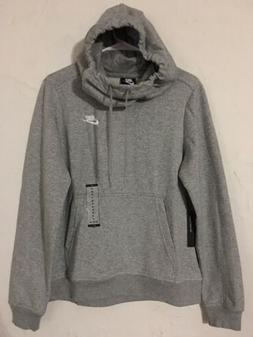 Nike Club Funnel Neck Grey Women's Hoodie Sz Medium NEW! 853