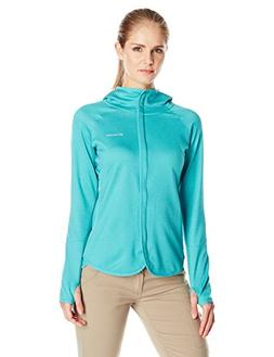 Columbia Women's Compass Point Hoodie, Large, Miami Heather