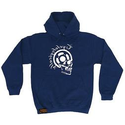 Cycling Hoodie Hoody Funny Novelty hooded Top - Cyclelogical