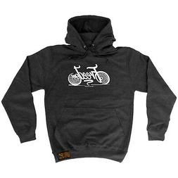 Cycling Hoodie Hoody Funny Novelty hooded Top - Freedom
