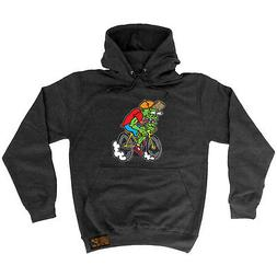 Cycling Hoodie Hoody Funny Novelty hooded Top - Weirdo Cycli