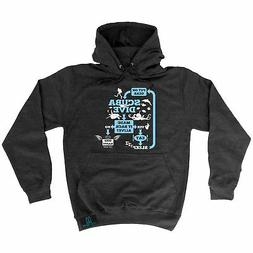 Diving Hoodie - Made It Back Alive Repeat - diver funny Birt