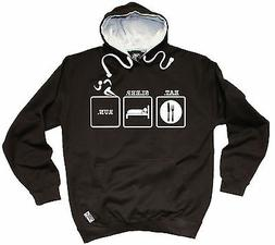 Eat Sleep Run HOODIE hoody birthday running runner training