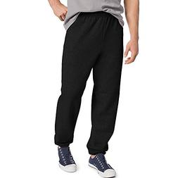Hanes by ComfortBlend EcoSmart Men's Sweatpants, Black, M