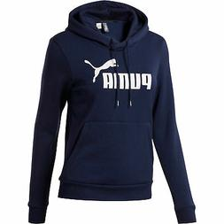 PUMA ESS Logo Women's Fleece Hoodie Women Sweat Basics