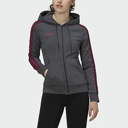 adidas Essentials 3-Stripes Fleece Hoodie Women's