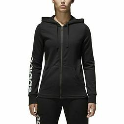 ADIDAS ESSENTIALS LINEAR WOMEN'S HOODIE SIZE LARGE NEW S9707