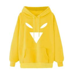 XUANOU Exercise & Fitness Casual Hoodie Literal Printing Spo