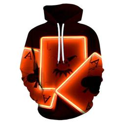 Fashion Special Funny Women Men 3D Print Hoodies Pullover Pl
