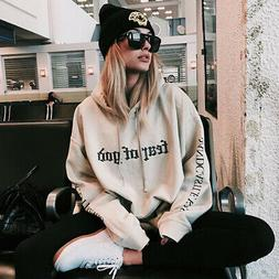 Fashion Women Korean Hoodies Sweatshirt Hooded Coat Pullover