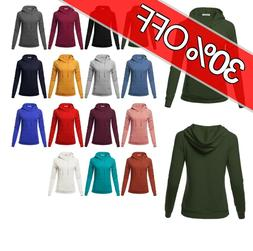 FashionOutfit Women's Raglan Sleeve Pullover French Terry Ho
