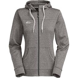 The North Face Fave Full-Zip Hoodie - Women's Heather Grey/T
