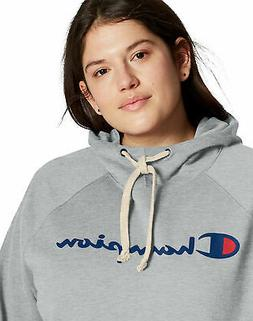 Champion Fleece Hoodie Sweatshirt Womens Plus Size Powerblen