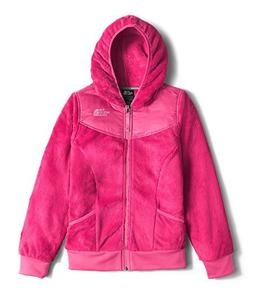 Girl's The North Face 'Oso' Fleece Hoodie, Size L  - Pink