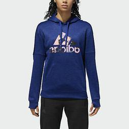 adidas Floral Badge of Sport Hoodie Women's