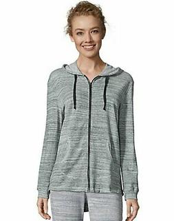 Hanes French Terry Hoodie Full Zip Sweatshirt w Pockets Wome