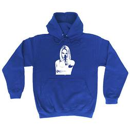 Funny Novelty Hoodie Hoody hooded Top - Girl Shooting