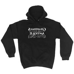 Funny Novelty Hoodie Hoody hooded Top - Grandmas Are Just An