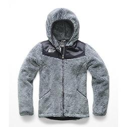 The North Face Girl's OSO Hoodie - Mid Grey & Periscope Grey