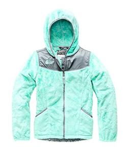 The North Face Girl's OSO Hoodie - Mint Blue - S