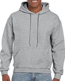 Gildan Heavy Blend Fleece Pullover Hoodie M, Sport Grey