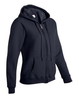 Gildan Women's Heavy Blend Full-Zip Hooded Sweatshirt, Large