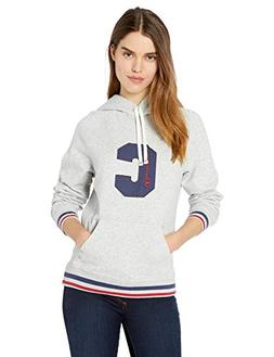 Champion Women's Heritage Fleece Pullover Hood, Oxford Grey